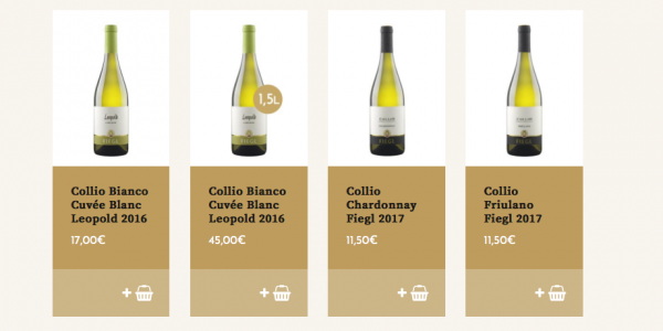 Acquistare vino online